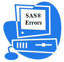 Enter SAS error for solution